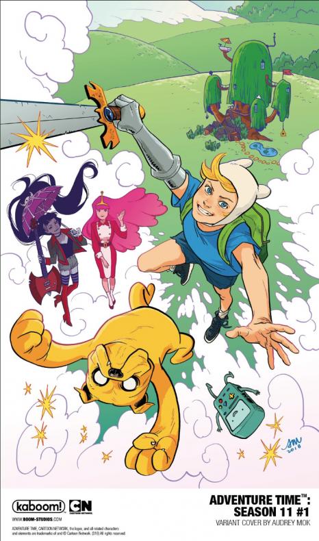 Screenshot 2018 07 24 BOOM Studios en Twitter ADVENTURETIME SEASON 11 the official comic book continuation of the Cartoon...
