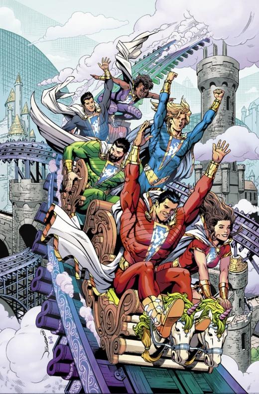 Nueva serie de Shazam! por Geoff Johns y Dale Eaglesham