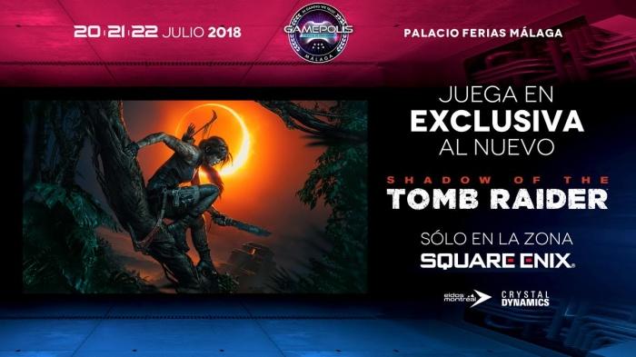 Square Enix Gamepolis tomb Raider