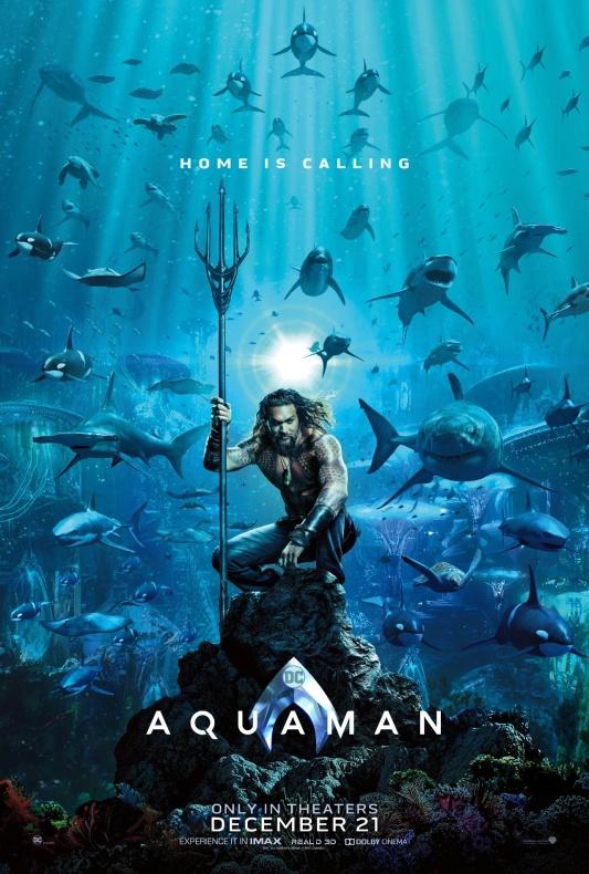 Aquaman Póster