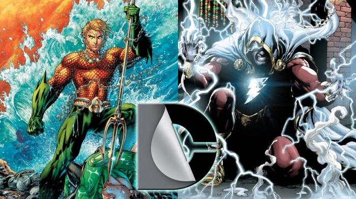 Aquaman Shazam