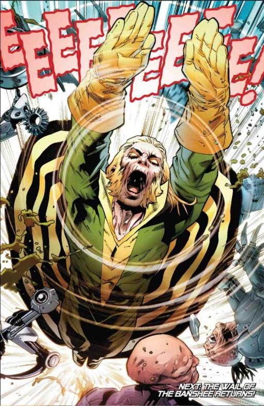 Astonishing X-Men 13 Banshee