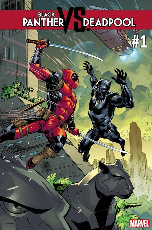 Black Panther vs. Deadpool 1