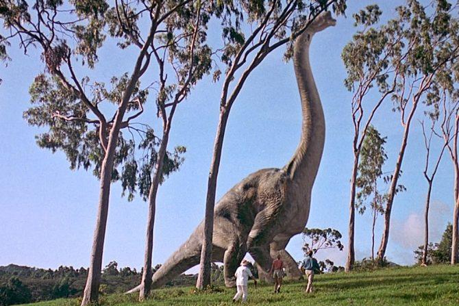Braquiosaurio Jurassic Park