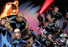 Disney Cuatro Fantasticos y X-Men