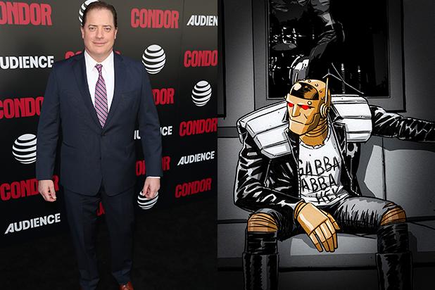 Brendan Fraser Robotman