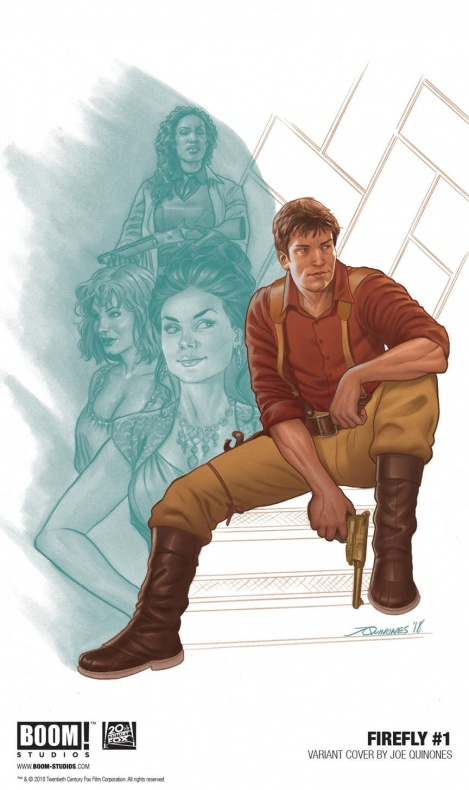 'Firefly'#1 Variant Cover