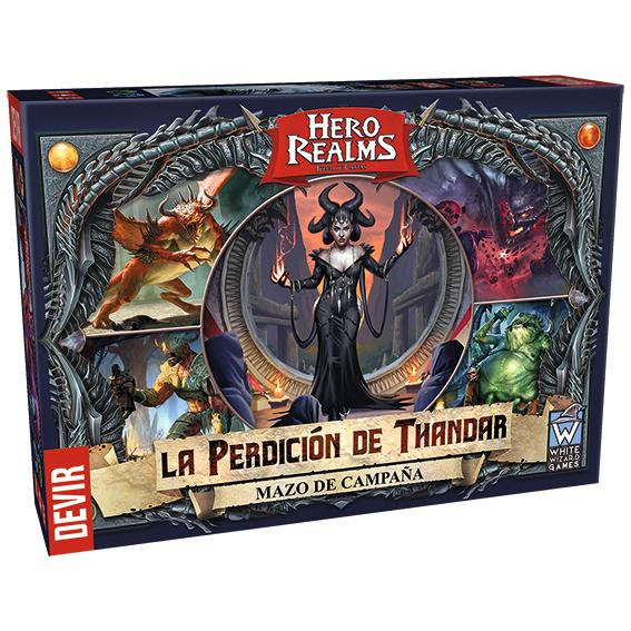 Hero Realms La perdición de Thandar Devir