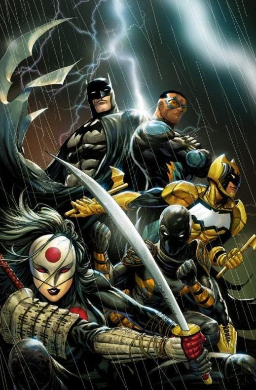 DC Comics 'Batman and the Outsiders'