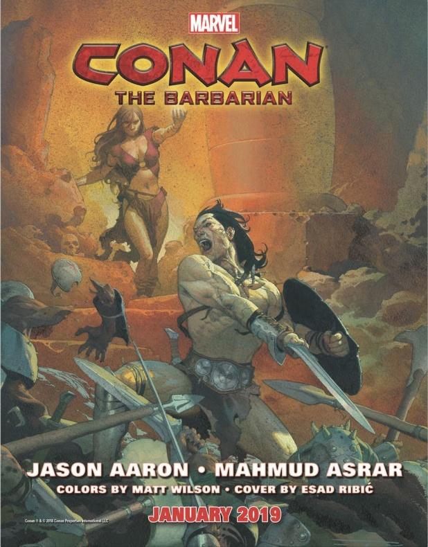 Marvel Conan 2019