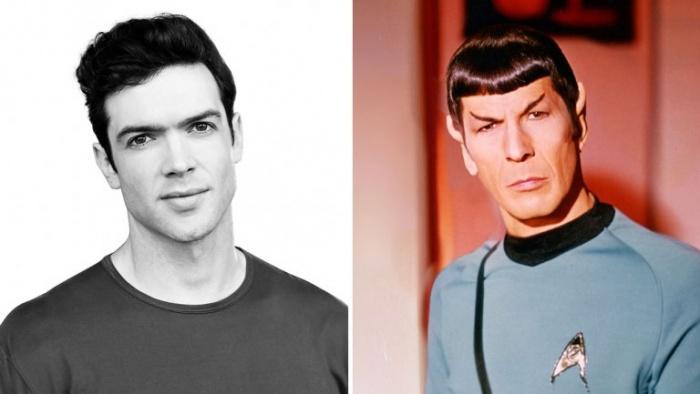 Ethan Peck Spock