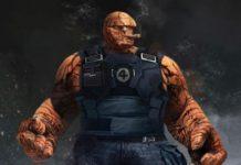 Diseño de La Cosa (Cuatro Fantásticos) para 'Deadpool 2'