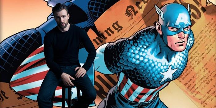Chris Evans - Capitán América - Vengadores 4