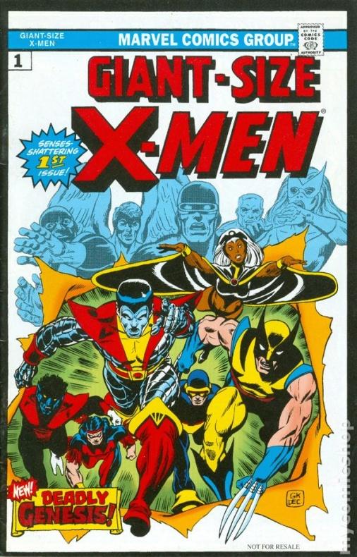 Giant Size X Men
