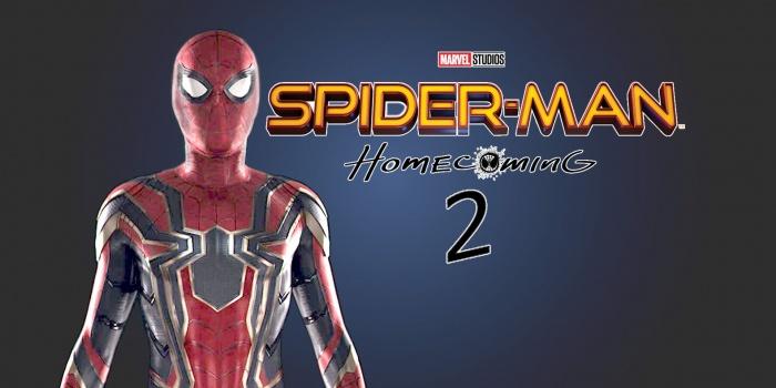 Spider Man Homecoming 2 Logo Banner