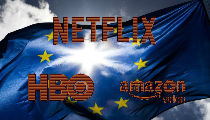 Unión Europea - Netflix - Amazon - HBO