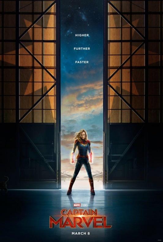 Primer teaser póster de 'Capitana Marvel'