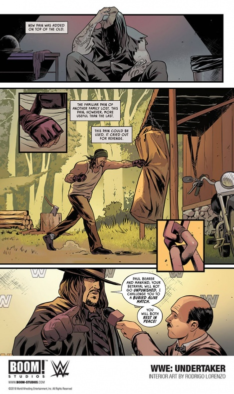 'Undertaker: Rise of the Deadman' Page 1