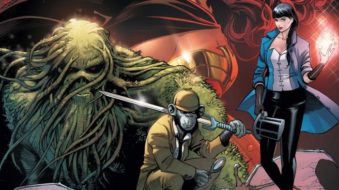 Alvaro Martínez Bueno 'Justice League Dark'