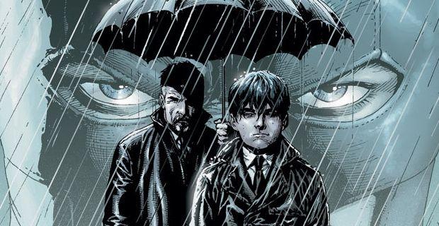 Batman Comic Cover Bruce Alfred