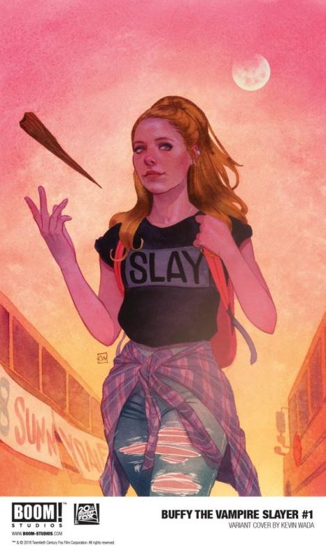 'Buffy cazavampiros' #1 Boom! Studios