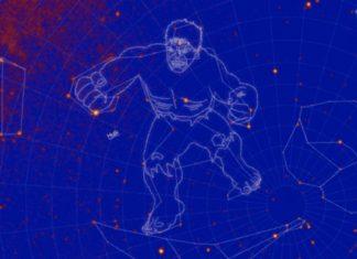 Constelación Hulk - NASA