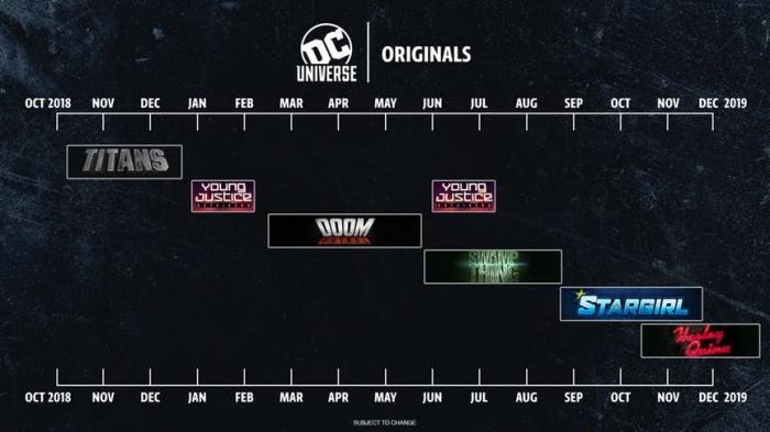 DC Universe Calendario