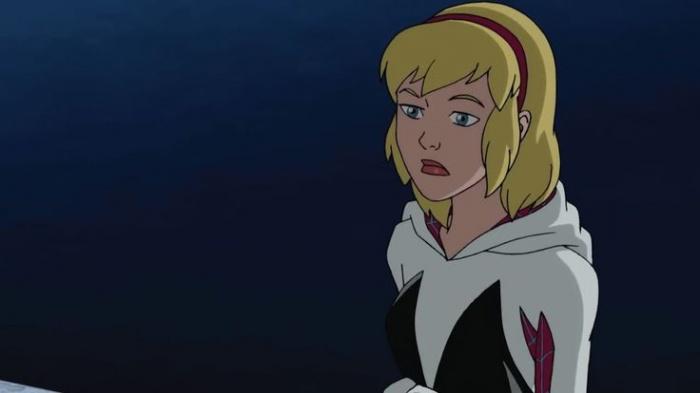 Gwen ultimate spiderman
