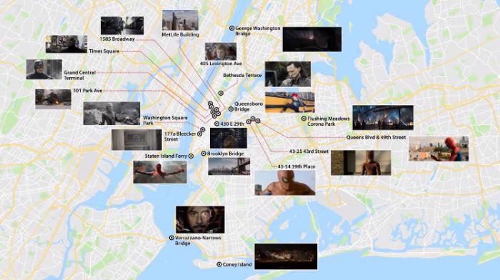 Localizaciones en Nueva York de las películas del Universo Cinematográfico Marvel