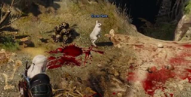 The Witcher 3 - Wild Hunt - Conejo asesino de los Monty Python