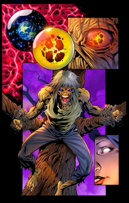 iron maiden legacy of the beast comic 2