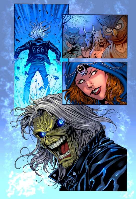 iron maiden legacy of the beast comic 3