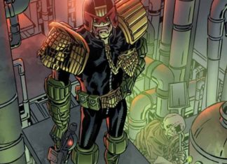 'Judge Dredd: Toxic!' #1