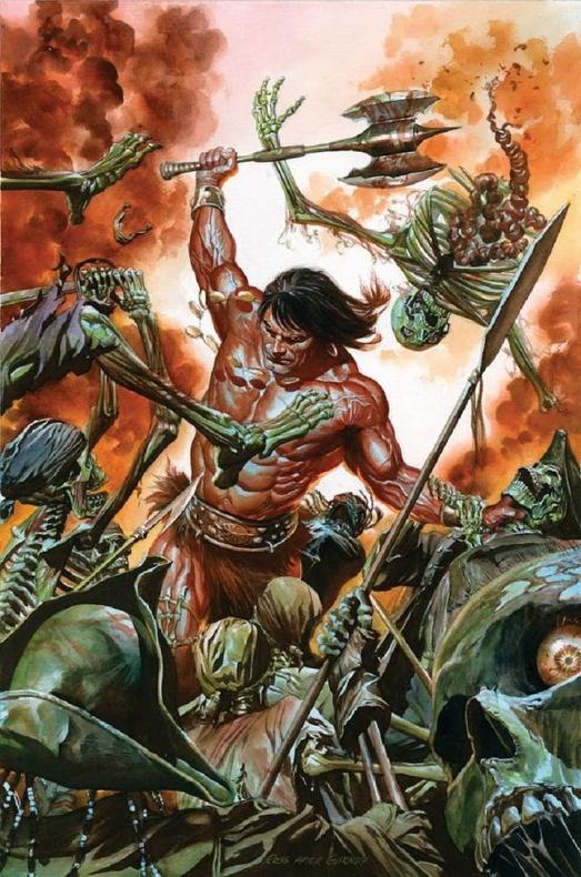 Conan 'Savage Sword of Conan' Alex Ross