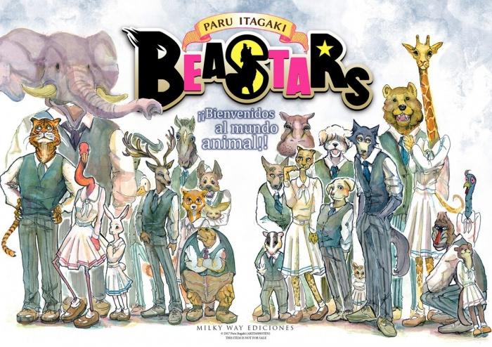 Beastars Paru Itagaki poster