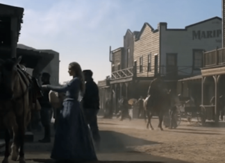 Decorados de Westworld arrasados por el incendio de California