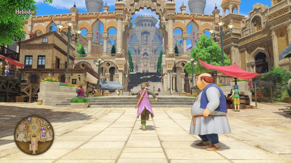 Dragon Quest XI Pueblos