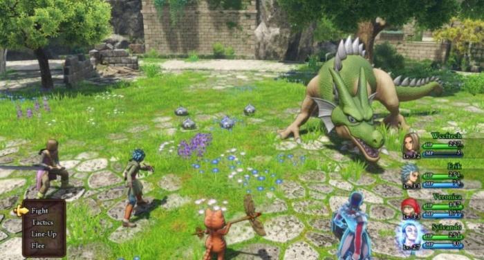 Dragon Quest XI combate