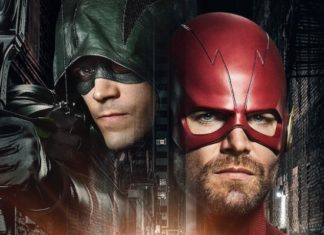 Elseworlds - Grant Gustin - Green Arrow - Stephen Amell - The Flash