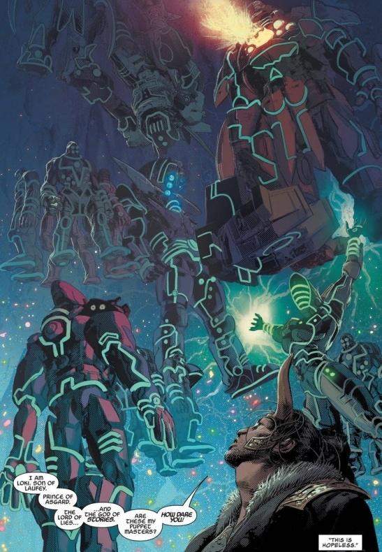Inifnity wars Loki