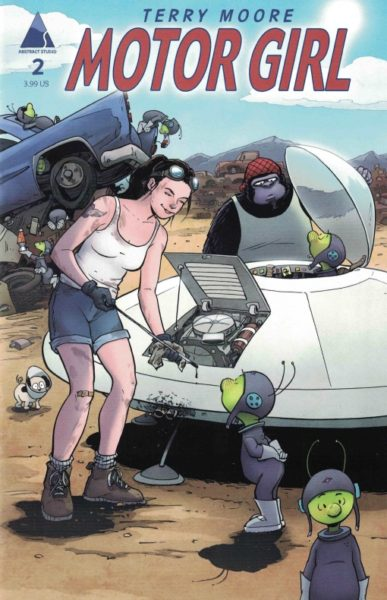 Motor Girl Terry Moore