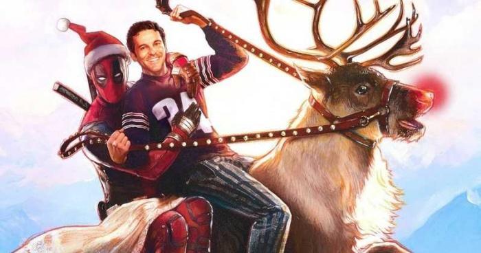 Ya está aquí el primer tráiler de la película navideña de Deadpool