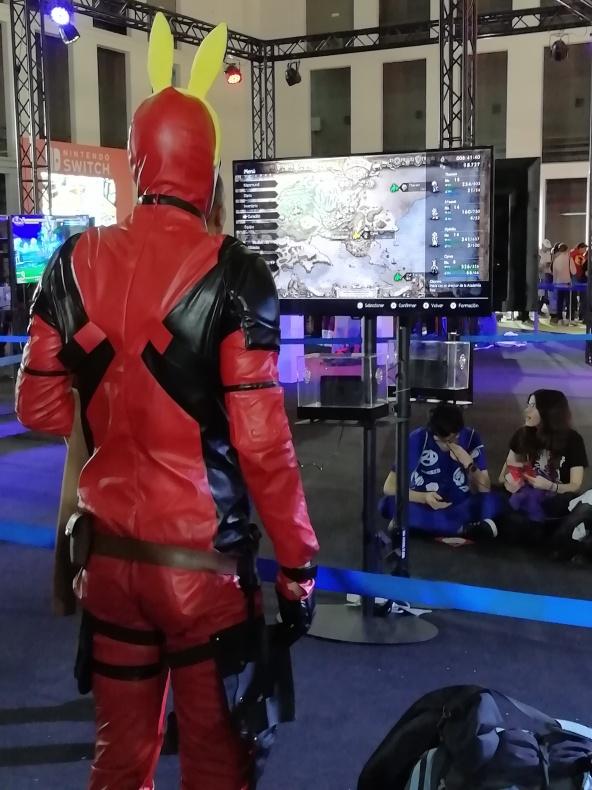 Salón Manga 2018 Deadpool Videojuegos