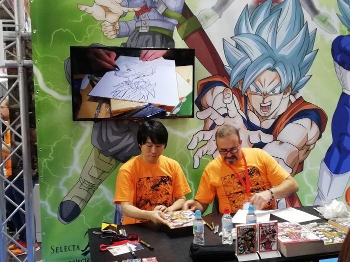Salón Manga 2018 Masaki Sato