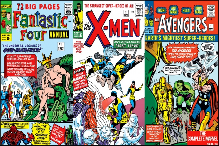 The Complete Marvel Comics of 1963 Cover