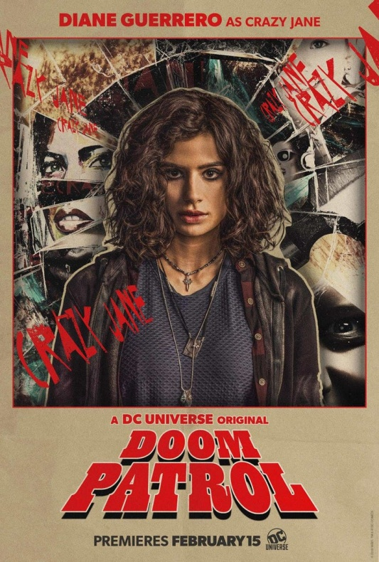 Doom Patrol Póster Crazy Jane