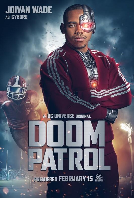 Doom Patrol Póster Cyborg