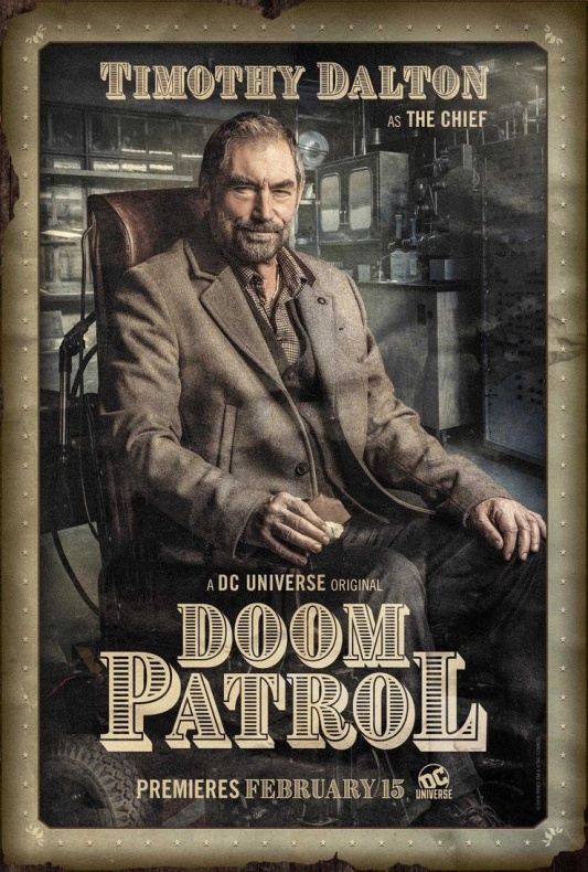 Doom Patrol Póster El Jefe