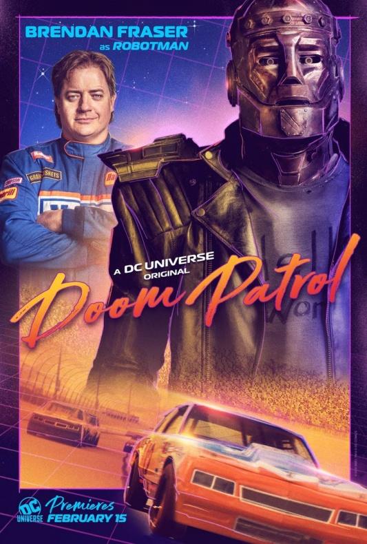 Doom Patrol Póster Robotman