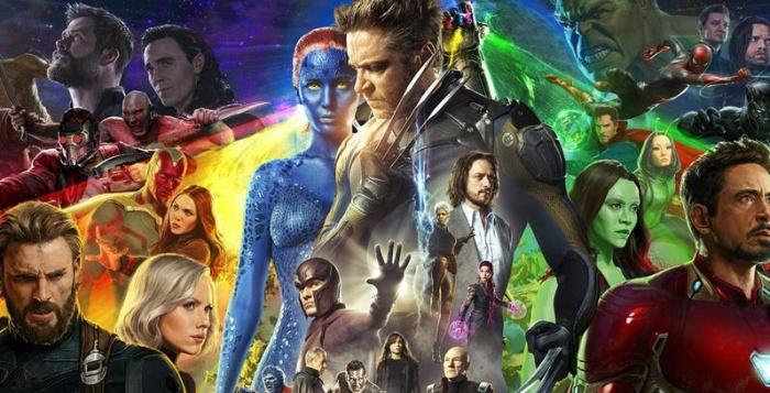 MCU X Men Infinity War
